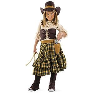 Limit Sport - Disfraz de cowgirl infantil, talla 9-11 años (MI525)