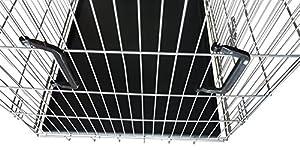 Nemaxx Cage pour chien pliable et transportable taille XXL argent