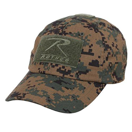 Rothco Operator Tactical Cap, Woodland digital camo -