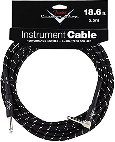 Fender Instrument Tweed lomený Câble 5,5 m Noir