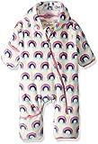 Hatley Fuzzy Fleece Baby Bundler - Hübsche Regenbogen - 9-12 Months - 74-79 cm