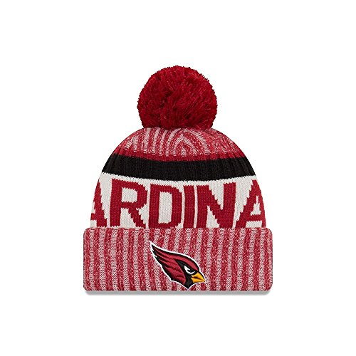 Cardinals Womens Hüte (New Era Herren Arizona Cardinals New Era NFL 17On Field Sport Knit Bobble Hat)
