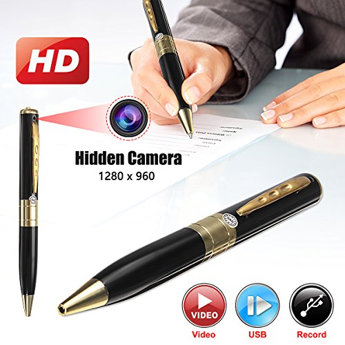 SAFETYON Mini Hidden Kamera Pen 32G Camcorder Video Recorder Audio-Aufnahme