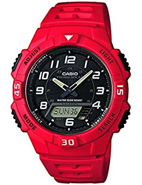 Casio Herren-Armbanduhr Analog - Digital Quarz Resin AQ-S800W-4BVEF