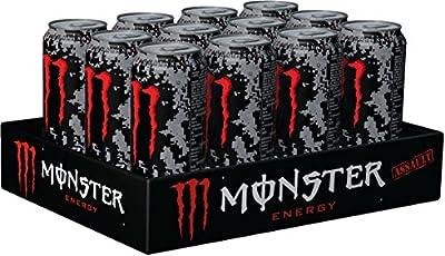 Monster Assault Energy Drink, 12er Pack (12 x 500 ml)