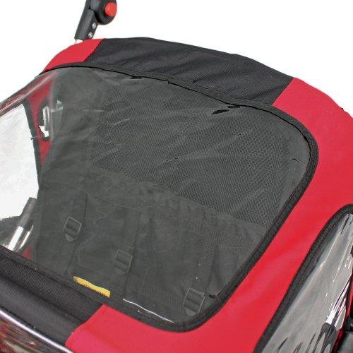 Kinderanhänger Fahrradanhänger Red Loon RB10001 ALU-Light für 2 Kinder - 4