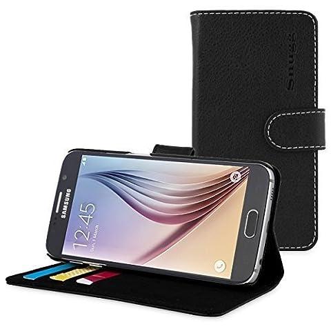 Etui Porte Carte Galaxy S6 - Coque Galaxy S6, Snugg Samsung Galaxy S6