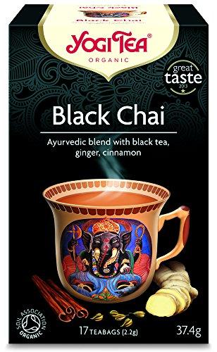Yogi Tea | Black Chai - og | 6 x 17 bags
