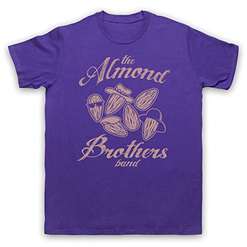 Almond Brothers Band Rock Band Herren T-Shirt Violett