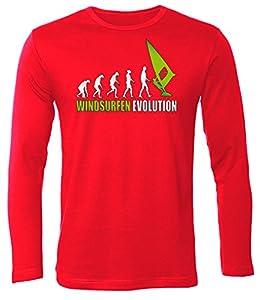 WINDSURFEN EVOLUTION 626(HL-R-Weiss-Grün) Gr. XXL
