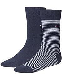 Tommy Hilfiger Herren Socken Small Stripe 2p, 2 Paar