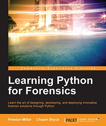 Learning Python for Forensics (English Edition)