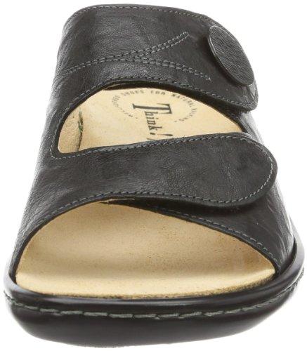 Think! CAMILLA, Chaussures de Claquettes femme Noir - Noir (09)