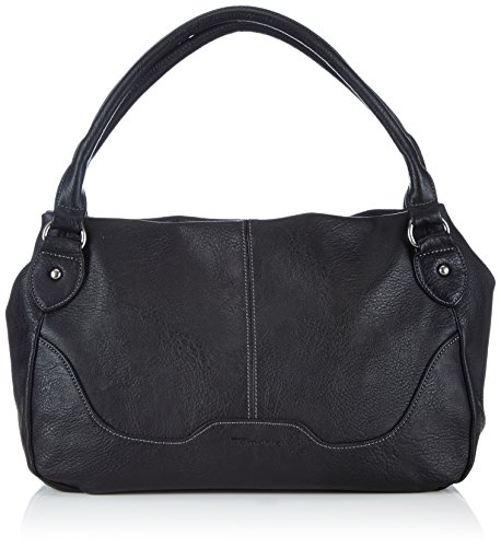 Tamaris LENA Handbag 1004999-001 Damen Henkeltaschen 38x24x15 cm (B x H x T), Schwarz (black)
