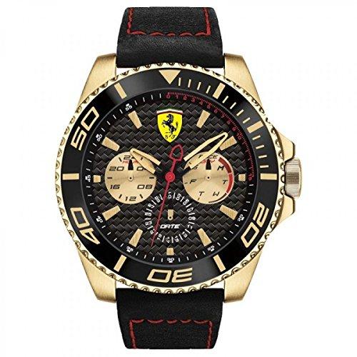 Ferrari De los hombres Watch Red Rev Reloj 0830385