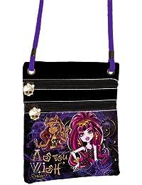 Monster High 13 voeux / wishes sac en bandouilliere façon cuir très luxe 2 zip