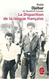 La Disparition De La Langue Francaise (Ldp Litterature)