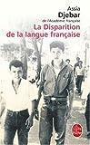 la disparition de la langue fran?aise