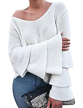 iShine suéter mujer invierno suéteres adolescentes con blanco y gris