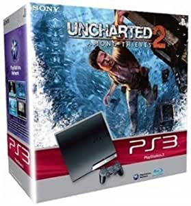 Sony Playstation 3 Slim 250 GB / Uncharted 2 Nero