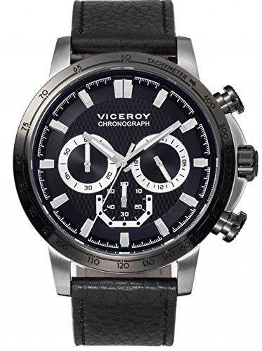 Viceroy Reloj Multiesfera para Hombre de Cuarzo con Correa en Silicona 47863-57