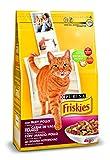 Friskies Alimento seco para Gato Adulto Con Buey, Pollo Y Verduras Añadidas, 4 Kg