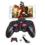 Link-e : Manette de jeu sans fil Bluetooth + Support smartphone pour jouer sur mobile, PC, tablette, Box, Android, IOS...