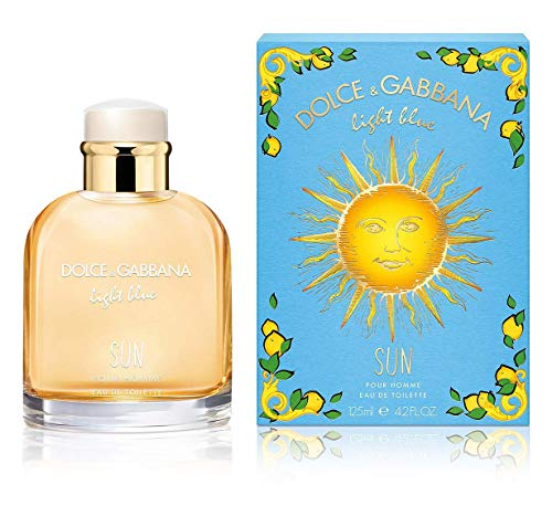 Dolce & gabbana - light blue sun pour homme summer 2019 eau de toilette spray 75ml