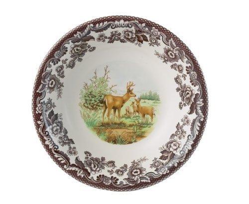 Spode Woodland Deer (Spode Woodland American Wildlife Mule Deer Cereal Bowl by Spode)