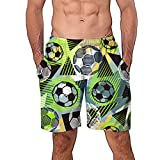29138e694c ODJOY-FAN 3D Tronchi per la Spiaggia da Uomo di Surf con Stampa Uomini Swim