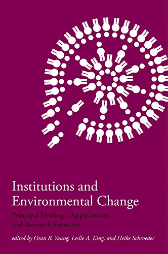 Institutions and Environmental Change: Principal Findings, Applications, and Research Frontiers (The MIT Press) (English Edition)