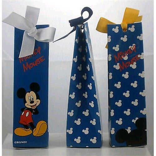 Bomboniere disney scatolina porta confetti topolino h 14 cm l 4 cm w 4 cm