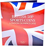 Edition London Olympic 2012 50p Coins Sports Coin Hunt Collectors Album