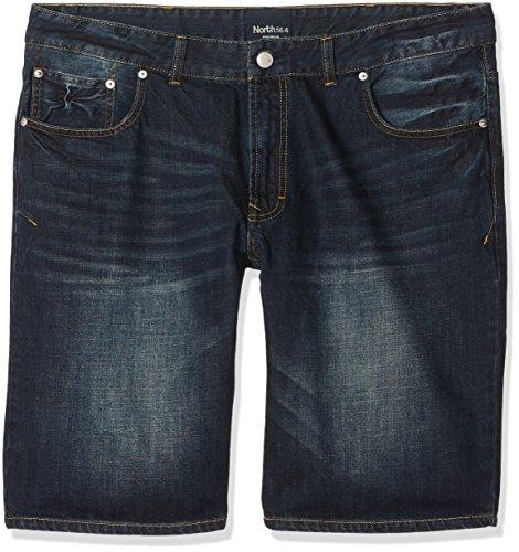 North 56-4 Herren Shorts Blau (Blue Used Wash 0597)