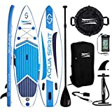 AQUA SPIRIT SUP Aufblasbare Boards für Stand-Up Paddling Paddel Board