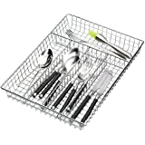 Kitchen Craft KCCUTLERY - Organizador de cubiertos (5 compartimentos, 36 x 25 x 4,5 cm)