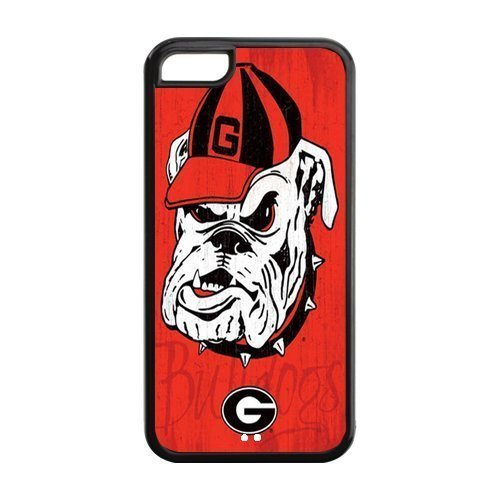 Customize Georgia Bulldogs Back Case for iphone 5C JN5C-1237