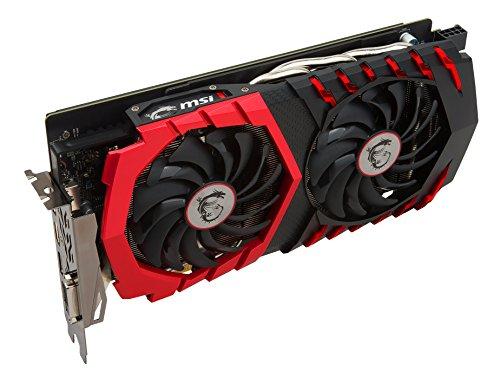 MSI GeForce GTX 1060 Gaming X+ 6GB Nvidia GDDR5 1x HDMI - 5