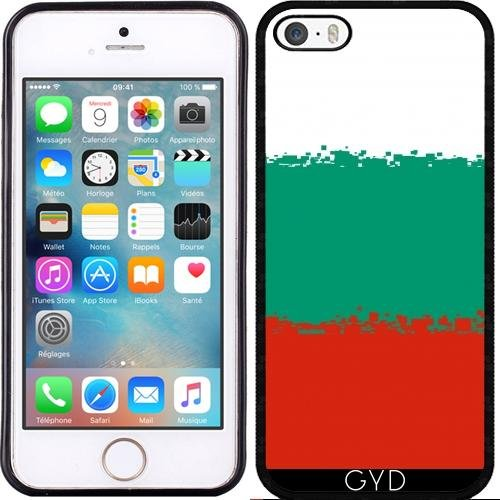 Coque pour Iphone SE - Bulgarie-8 Bits by Cadellin Silicone