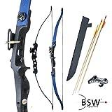 Strongbow BEETLE JR - Conjunto de arco curvado (8,1 kg) - azul