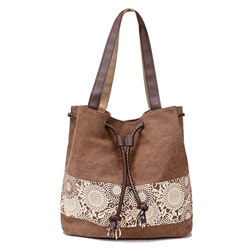 byd-damen-canvas-bucket-bag-schultertaschen-schule-bag-with-pu-leder-strap-with-printed-flower-desig