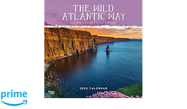 Wild ATLANITIC WAY A4 Calendar