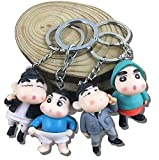 Best Keychain Set Of 2 - Set of 2 Shinchan PVC Action Figure 4-5 Review