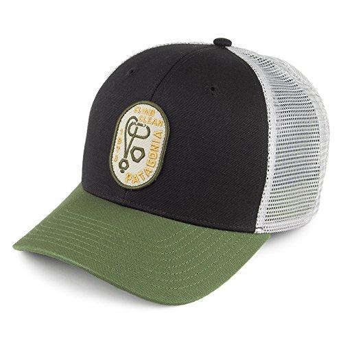 patagonia-hats-climb-clean-rack-trucker-cap-black-sage-adjustable