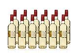 12 Fl. x 0,75l- Weißwein,2013er Rheinhessen, Merlot Blanc de Noir, QbA, trocken