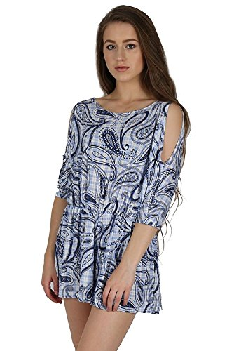 womens-ladies-printed-all-in-one-piece-cold-cutout-shoulder-batwing-sleeve-keyhole-back-rompers-jump