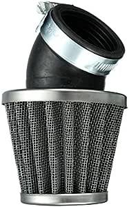 Alamor 40mm 45 Grad Luft Filter Schwarz Für 125cc 110cc 125cc 140cc Pit Dirt Bike Motorrad Küche Haushalt
