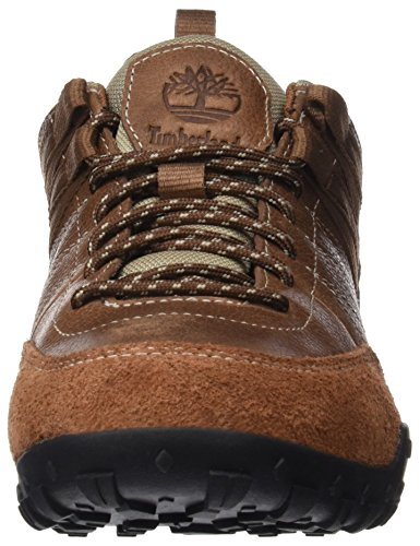Timberland Greeley Approach Low Leattortoise Shell Rugged Fg, Scarpe Oxford Uomo Marrone (Tortoise Shell Rugged Fg)