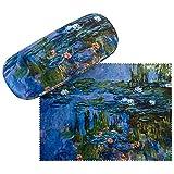 VON LILIENFELD Portaocchiali Regalo Donna Arte Fiore Claude Monet Ninfee