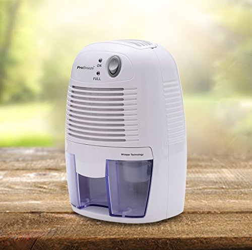 Pro Breeze 500ml Compact And Portable Mini Air Dehumidifier For Damp Mould Moisture In Home